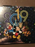 Walt Disney World 2019 Autograph and Photograph Album Book with Pen