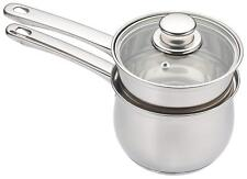 KitchenCraft Induction-Safe Stainless Steel Double Boiler Porringer /...