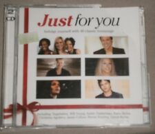 Various Artists - Just for You - DOUBLE CD ALBUM - 40 CLASSIC LOVE SONGS - 2004