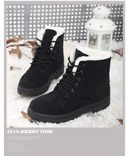Damen Winterstiefel Stiefeletten Ankle Boots Martin Boots Armeestiefel Snowboots