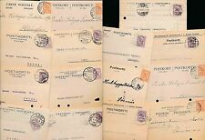 FINLAND 1920s COMMERCIAL CARDS + POSTMARKS...14 ITEMS