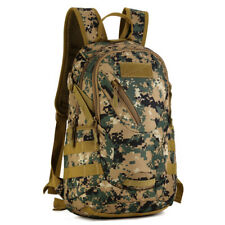 20L Military Camouflage MOLLE Backpack Tactical Assault Pack Student School Bags