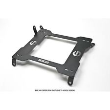 Sparco 600SB115L Driver Side 600 Series Seat Base For 86-91 Mazda RX7