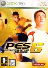 Pro Evolution Soccer 6 (Xbox 360) - Versandkostenfrei-UK Verkäufer