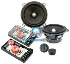 """FOCAL 130A1-SG 5.25"""" 100W RMS 2-WAY ACCESS COMPONENT SPEAKERS MIDS TWEETERS NEW"""