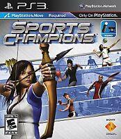 Sports Champions (Sony PlayStation 3, 2010) BRAND NEW SEALED