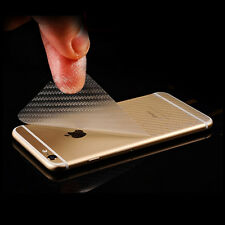 New 3D Transparent Carbon Fiber Back Cover Screen Protector Film For Cell Phones