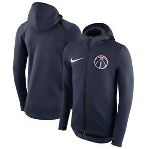 NEW Authentic Nike Washington Wizards Men's NBA Showtime Full-Zip Hoodie Jacket