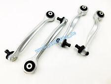 4x Wishbone Conjunto Superior Suspensión Multibrazo Aluminio Audi A4 B5 C5 Nuevo