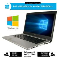 HP Laptop Computer Windows 10 Pro FAST Intel i7 8GB RAM 256GB SSD HD WEBCAM PC