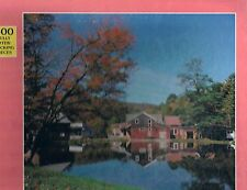 """Hanford Kelso Mills, Catskills New York 500 piece 16"""" x 18"""" jigsaw Rainbow Works"""