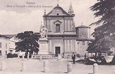 FAENZA - Monumento a Torricelli e Chiesa di San Francesco