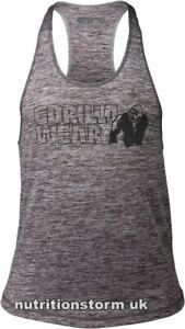 Gorilla Wear Austin Tank Top - Gray/Black - 3XL