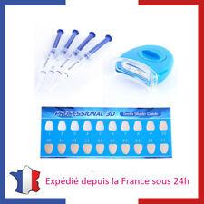 Kit de Blanchiment Dentaire Professionnel 4 seringues de Gel pour Dents Blanches
