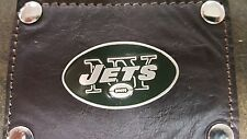 New York Jets 3 Piece Leather Luggage Set- Duffle, Messenger & Travel Kit