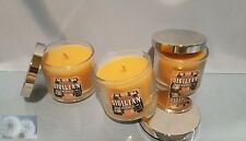 Bath and Body Works Sigilian Orange paraffin wax candles 1.3 oz each (lot of 3)