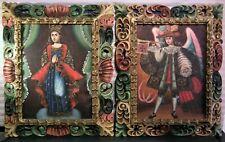 Spanish Colonial Cuzco School Oil Paintings Pair