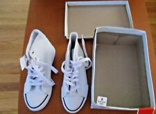 Airwalk Kids New with Box White Legacee High-Top Size 2 Non Mark Sole Shoes