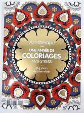 Art thérapie - 100 coloriages anti-stress - Hors série - HACHETTE