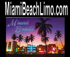 Miami Beach Limo .com  Bachelor Party Weddings Concerts Domain Name For Sale Url