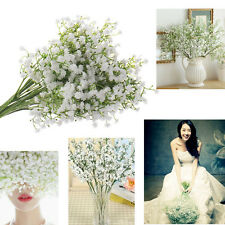 Silk Artificial baby breath Gypsophila Flower Wedding Home Decor 1 Head Hot sale