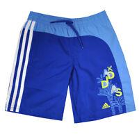 adidas performance boys blue swim shorts. Swim bermuda. Various sizes!