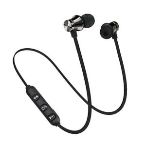 Magnetic Wireless Adsorption Bluetooth 4.2 Stereo Earphone Headset