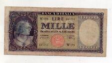 """ITALIA  - 20.03.1947 - 1.000 lire - """"TESTINA"""" - """"R3"""" - W SOSTITUTIVA - (FDC7976)"""