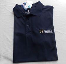 Ncaa University Pittsburgh Panthers Unisex Large Holloway Signature Polo Shirt