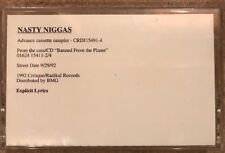 Nasty Niggas- Banned From The Planet- Rap Cassette Tape 1992 Brand New No Shrink