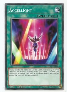 Accellight LED3-EN044 Common Yu-Gi-Oh Card English 1st Edition New
