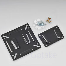 "Wall Mount Fixed Bracket Screws For LCD Monitor 10"" 15"" 17"" 19"" inch TV Screen"