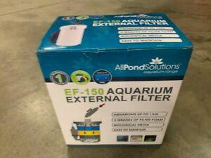 AQUARIUM EXTERNAL FILTER EF-150 400 L/H