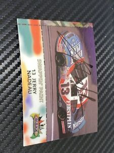 Jerry Nadeau FIRSTPLUS DAN MARINO signed 1998 MAXX SWAPPIN PAINT 50th ANNI card