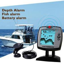 100M Fish Finder Combo Depth Finder Sonar Marine Tools Fish Indicator Detector