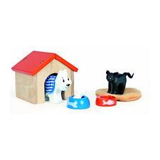 """Le Toy Van ME043 """"Haustier-Set"""" 7-tlg. 1:12 für Puppenhaus Bauernhof Holz NEU! #"""