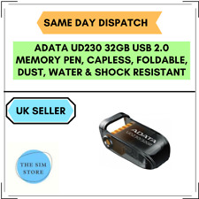 32GB ADATA PENDRIVE FOR PCs, Tablets, Smart TVs, In-Car Systems, Game Consoles