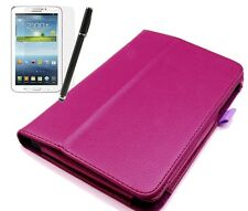 Hülle f Asus MeMo Pad HD 7 ME173x Leder-Imitat Case Cover Tasche lila violett