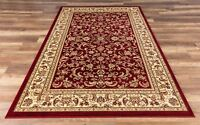Eternal Premium Quality Classic Area Rug Red Soft Plush Traditional Oriental