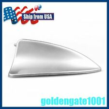US Silver Gray Car Shark Fin Roof Decorative Dummy Antenna For Toyota Models