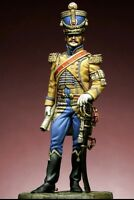 54mm Napoleonic era Officer (Base included) Resin Model Kit