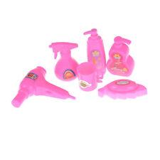 6X Puppe Bad Zubehör Haus Fön Seife Tasse Kinder Spielzeug Für Barbie Puppe_EC