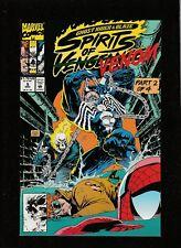 GHOSTRIDER & BLAZE SPIRITS OF VENGEANCE #5 1992  MARVEL COMICS  VENOM  NM- (9.2)