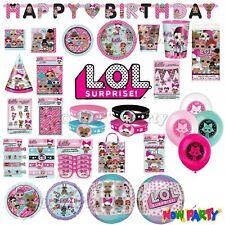 LOL Suprise Birthday Party Supplies Girls Childrens Tableware Decorations