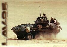 LAV-25, U.S. Military, Water & Ground Forces, Desert Vehicle --- Postcard