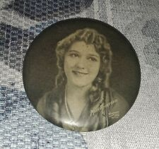 Actress Mary Pickford Compact Mirror, Vintage, Antique