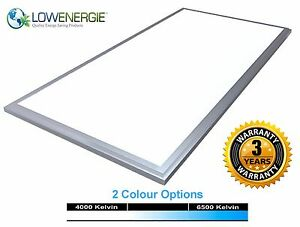 72w LED Panel Light Suspended Ceiling Recessed Shop Office Lighting 1200 x 600