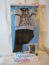 "MADAME ALEXANDER 18"" GRAPHIC SHIRT DOLL OUTFIT SET"