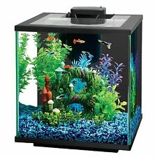 Central Aquatics Island 7.5-Gallon Glass Aquarium Kit w/ LED Light, 50W Heater