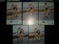 cyclisme cartes GIS Campagnolo 1983 LANG.MASCIARELLI.MAZZANTINI.MORANDI.SALVAD.